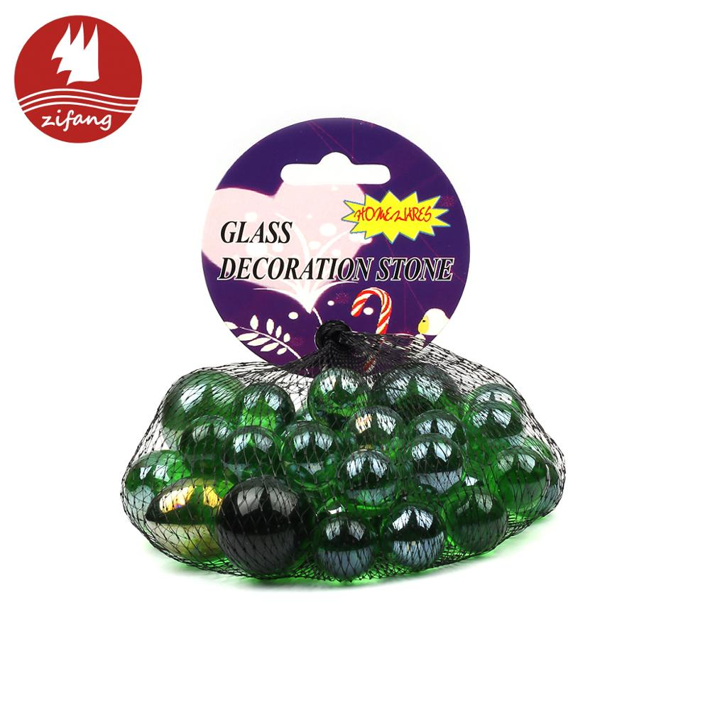 100% Glass material glass marbles ball for home decoration or toy use