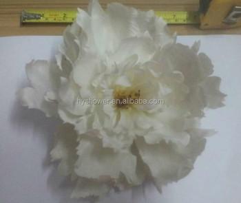 Small white peony artificial silk flower peony head buy small small white peony artificial silk flower peony head mightylinksfo