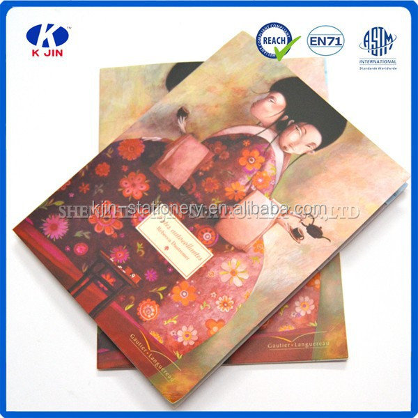 2015 New arrival a5 impressionistic sticky note pad for promotional