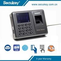 Secukey Fingerprint Time Attendance Clock Device Card mini USB TCP/IP Employee Software
