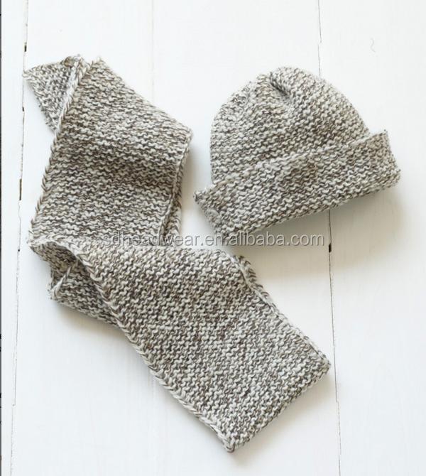 Loom Knit Tweedy Hat Scarf Custom Hat And Scarf Knitting Patterns