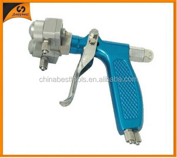 2015 ningbo best on sales adhesive spray equipment mini chrome gun