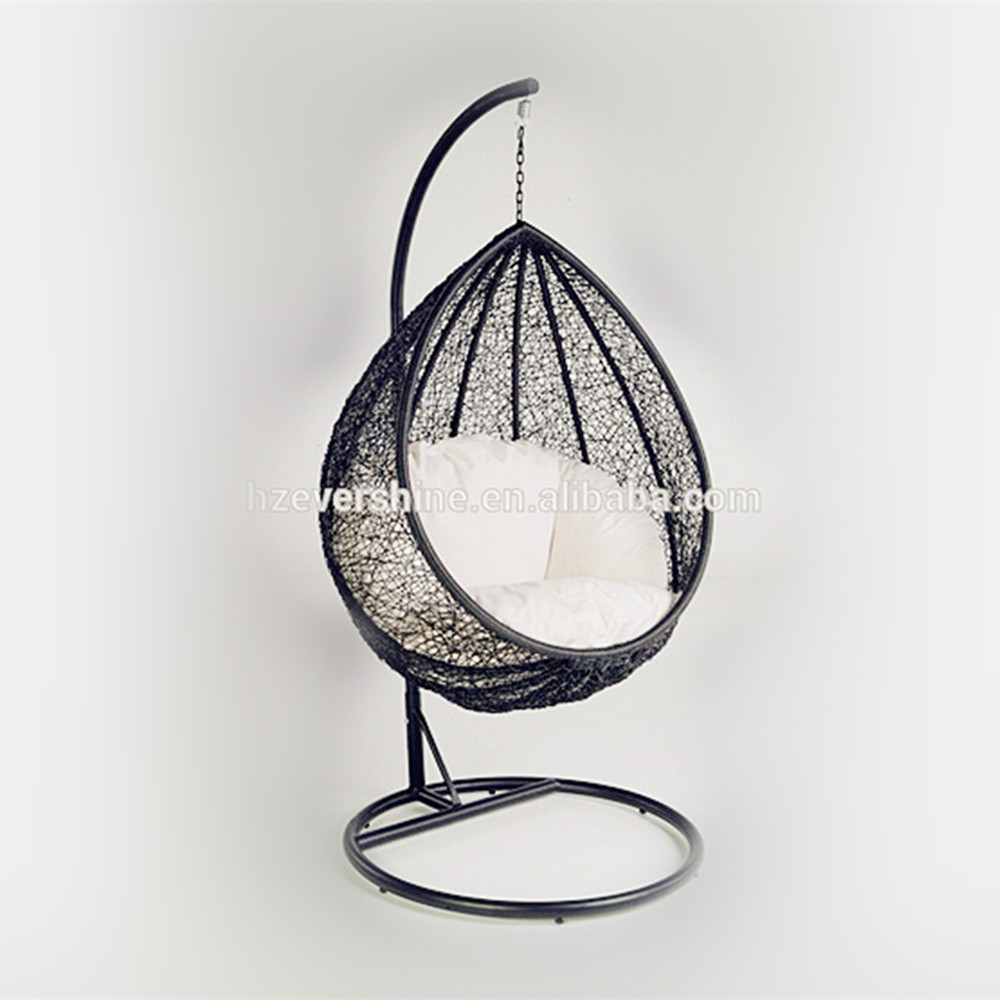 Patio Wicker Furniture Egg Shape Swing Chairs/ Garden Rattan Hanging Chairs
