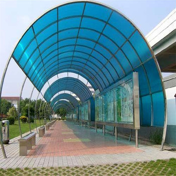 Ultraviolet Proof 6mm Skylight And Roofing Polycarbonate Sheet Polycarbonate Hollow Sheet