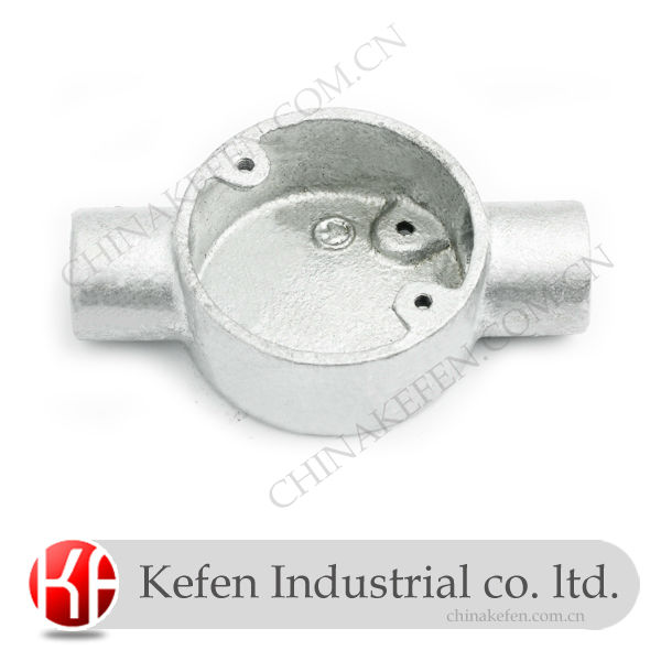 Pleasant Bs4568 Galvanised Electrical Wiring Conduit Box Malleable Iron Wiring 101 Carnhateforg
