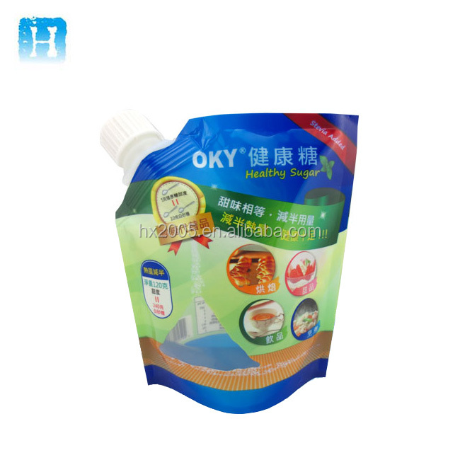 Liquid spout pouch bag China product custom food bag for Oil or Milk Juice Coffee
