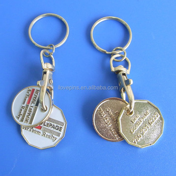 Canadian Loonie And Quarter Coins For Shopping Cart With Personalized Logo  - Buy Function Metal Trolley Coin Key Holder,Canadian Loonie And Quarter