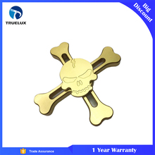 Electroplating Skull Design China factory good crazy spinner hydro spinner