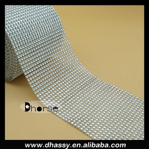 DHORSE DH-PM001 DIAMOND MESH WRAP ROLL CRYSTAL RHINESTONE SPARKLE BLING RIBBON