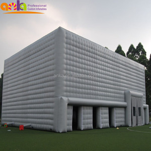Customized giant inflatable big air ice cube bubble tent for party wedding promotional house tents