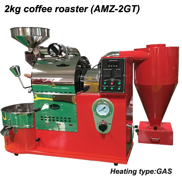 2kg Amz-02et Commercial Coffee Roasters For Sale/coffee Roasters ...