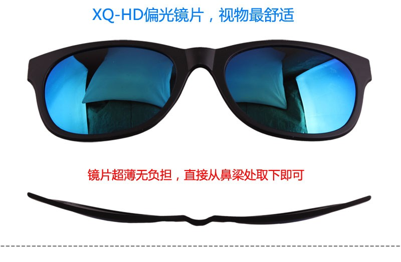 Custom magnetic split reading glasses frame magnet from Guangzhou factory