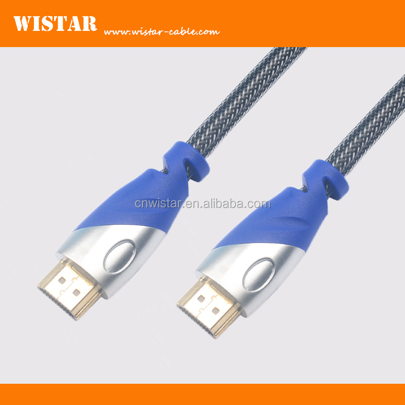 WISTAR Gold Plated Supports wholesale premium awm 20276 high speed Ethernet 3D 1.4 2.0 4K HDMI to HDMI Cable