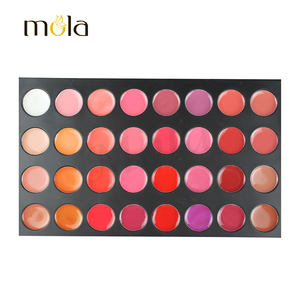 Cosmetics makeup wholesale 32 color best shimmering waterproof lip gloss cute fruit lip gloss