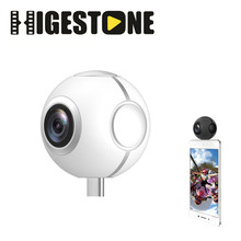 Plug and Play Phone 360 Video Cam Stream Live Streaming Camera