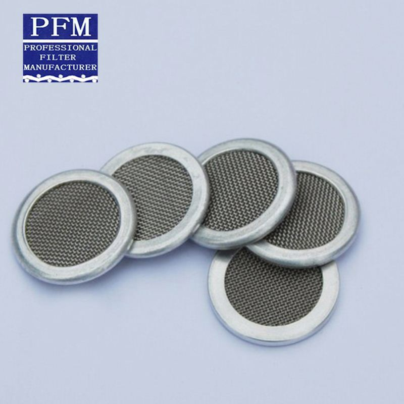 black thermally cut nylon cloth stainless steel polishing filter mesh disc