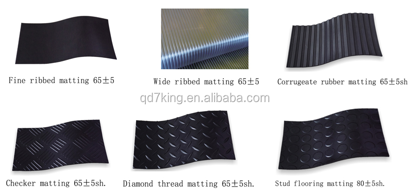 QINGDAO 7KING equipment for the production esd industrial rubber boat Floor Mat