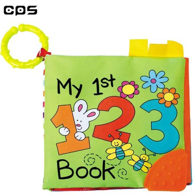 Wholesale Baby Book Eco Friendly Educational Cloth Soft For Babies