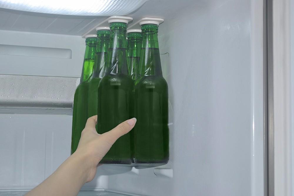 Kühlschrank Organizer Flaschen : Starke magnetische trinkflaschenhalter bier loft flasche aufhänger