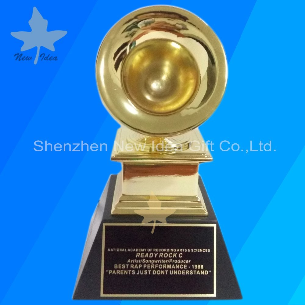 Perpetual Gold Color Plating With Grammy Awards Trophy
