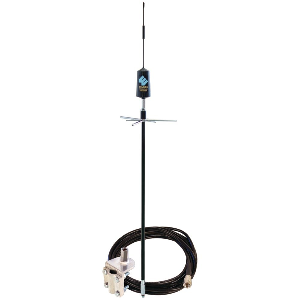 Wilson Electronics Dual Band Trucker Mirror Mount Antenna with 3-Way Mount