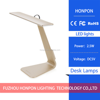 3Modes Fashion Ultra-Thin LED Charging Desk Lamp Smart Touch Eyes Protective Folding Night Light Reading Lamp for Bedroom DC 5V