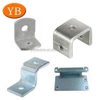 Custom Metal Bed Frame Bracket Galvanized Steel Corner Bracket For