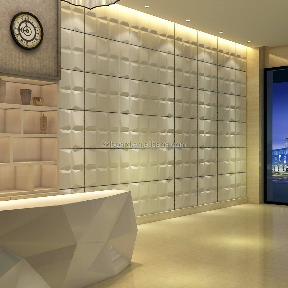 Wall Panelling Design Plant Fiber