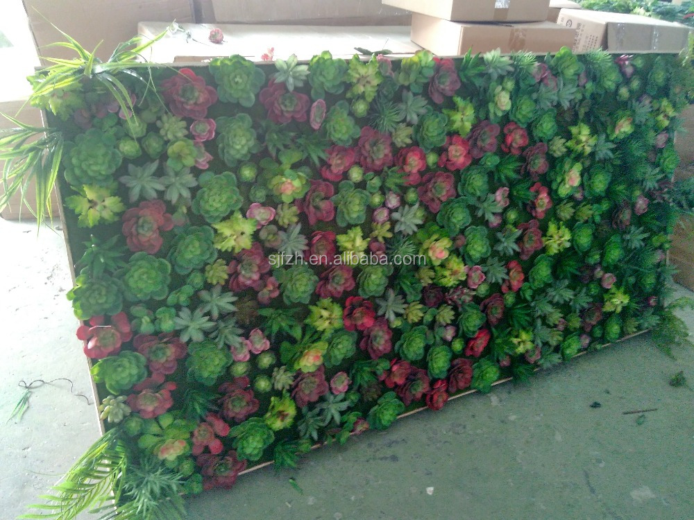 New design and hot sale artificial vertical garden wall for Jardin vertical artificial
