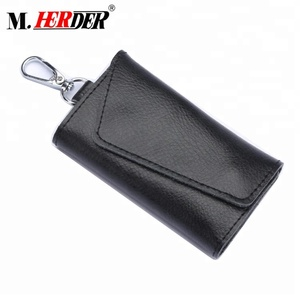 2018 Vintage genuine leather key holder men accessories key chain real leather wallet