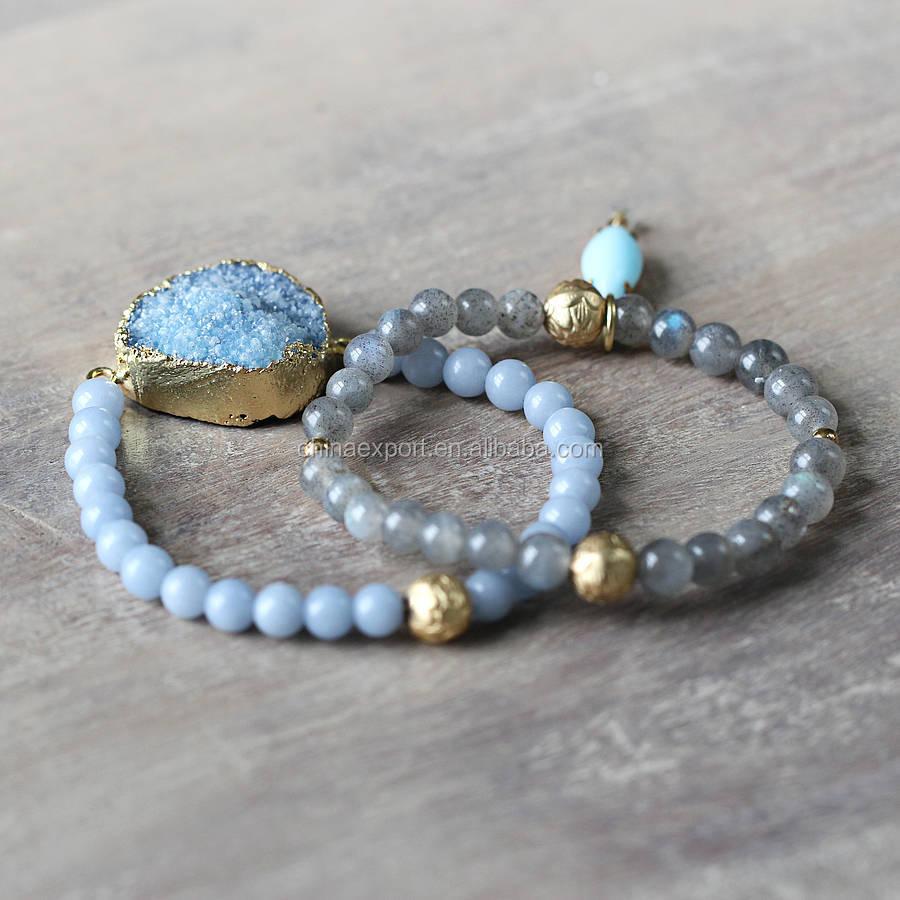 Handmade Beaded Memory Wire Bracelets, Handmade Beaded Memory Wire ...