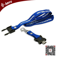 cute usb flash drive buckle lanyard keychain