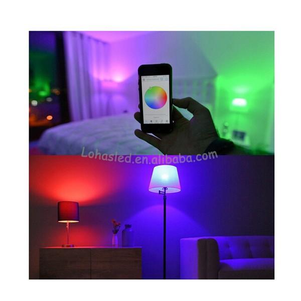 Hot Products Japan,Free App,E27 9w Rgb Bluetooth Led Light Bulb ...