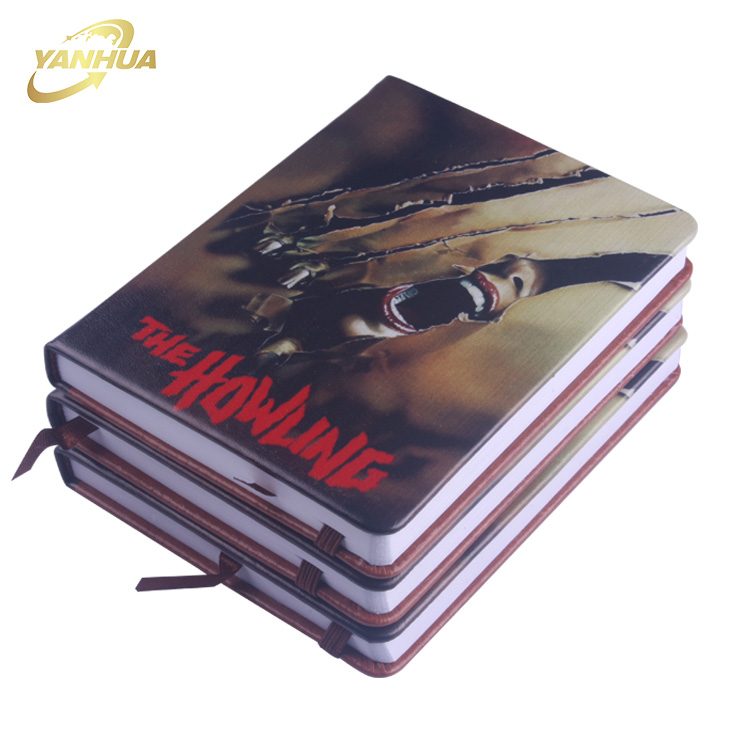 2018 New Creative Novelty Horrific 3D Notebook For Children