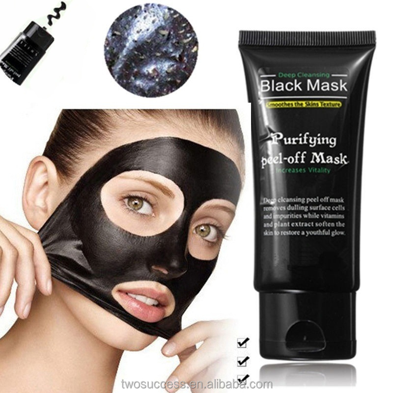 hot sale Private label black mask deep cleansing black peel off mask charcoal face mask