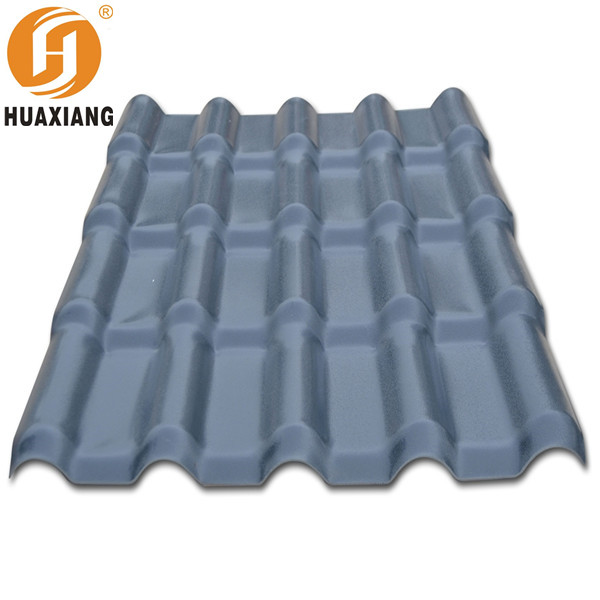 2017 Applicate in workshop sandwich tile roof rubber slate roof