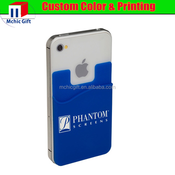 custom sticky back cell phone card holder back card holder sticker - Phone Card Holder Custom