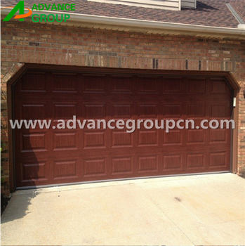 Standard lifting remote control color steel 16x8 garage for 16x8 garage door prices