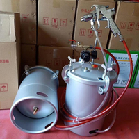 10L paint tank pressure tank bottom outlet