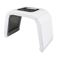Beauty salon omega Light LED Therapy 7Color Led Face Mask Light Phototherapy Lamp Machine with low price