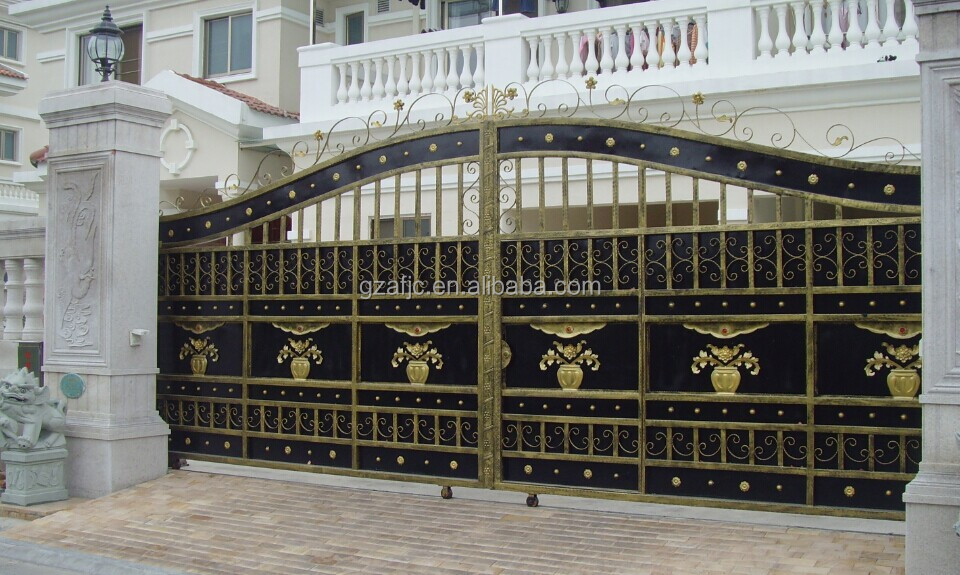Slide Steel Gate, Swing Metal Gate, Gate For House, Iron Gate Designs For Part 79