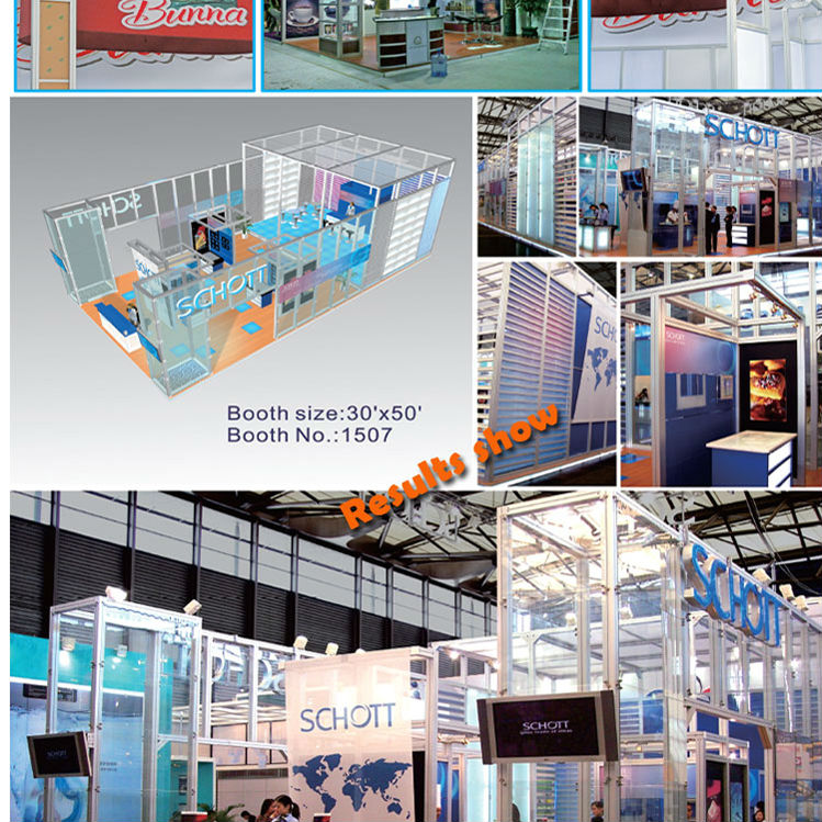 Modern Exhibition Stand Price : Fashionable fast tension fabric trade show display customized design