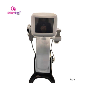 Best hifu machine 2 in 1 functions used for face lift skin tightening  treatment