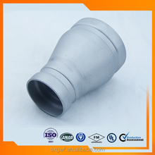 Hot sales pipe fitting ISO4144 JIS stainless bends grooved reducer