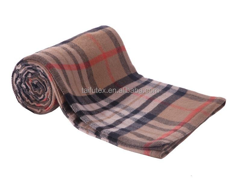 Papua Wool Blanket Australia Fine Wool Check Blanket