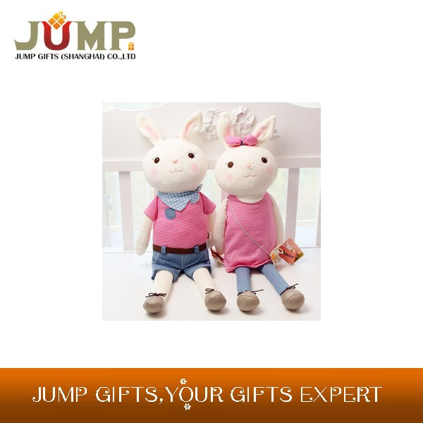 cheapest plush toy, unique bunny plush toy clothing