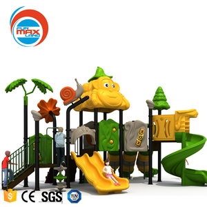 Outdoor slide for children tall metal playground slide from beijing funmax Sport equipment company