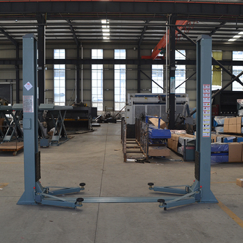 Famous automobile double post 2 post free standing car lift