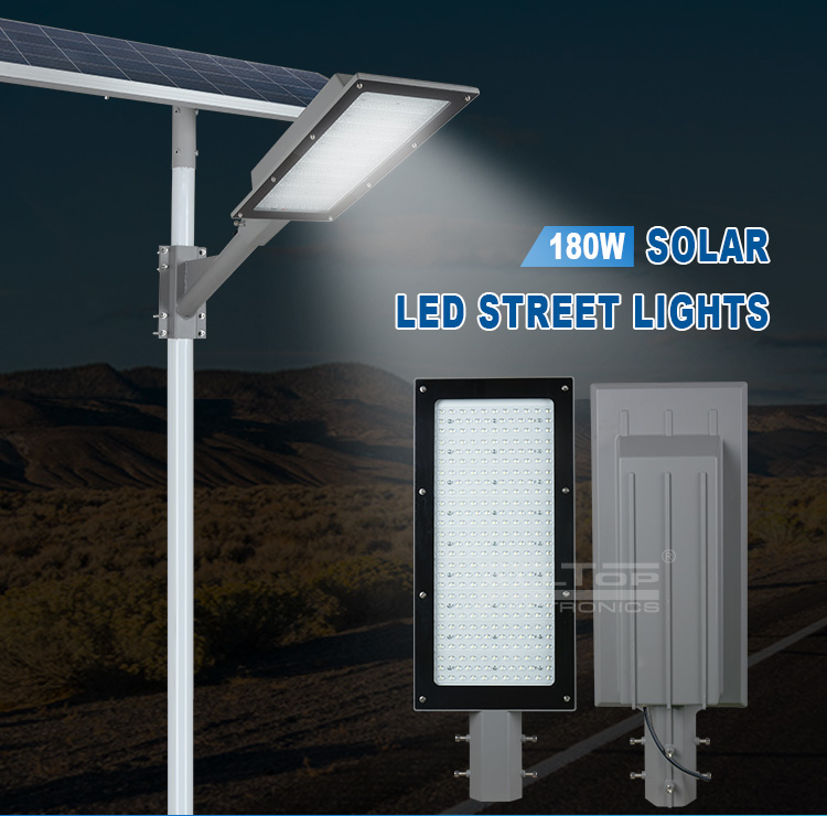 ALLTOP Super Bright 120w 150w 180w low voltage led solar street light price