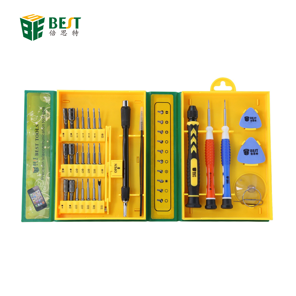 BEST 8920 30 In <strong>1</strong> Magnetic Precision Screwdriver Set For Computer Cell Phone Laptops Tablet PC Repair